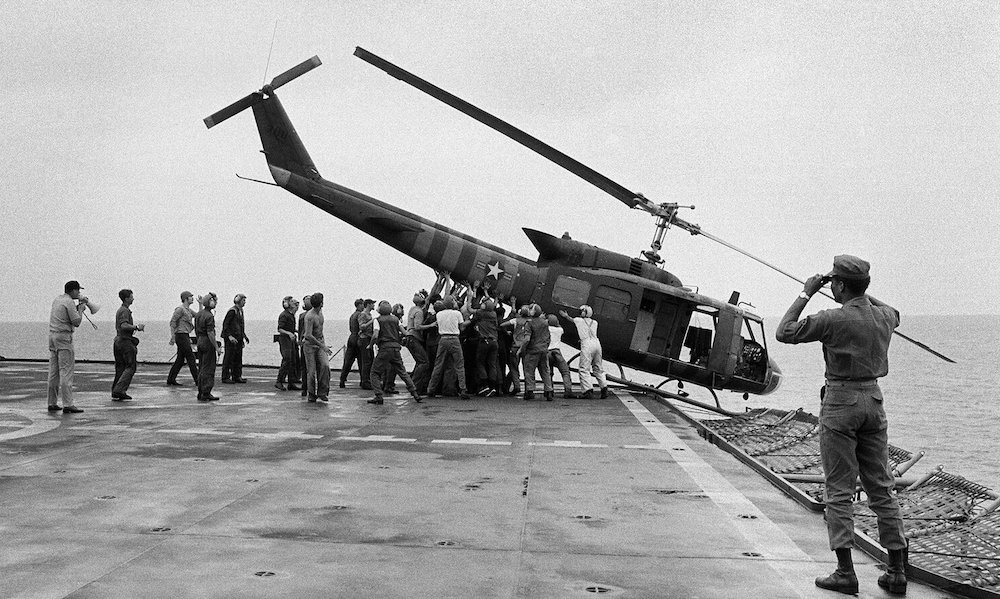 fall of Saigon helicoper